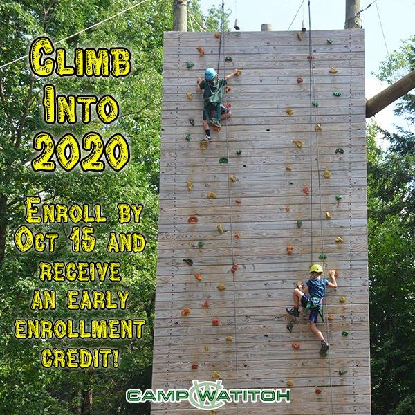 Climb into 2020